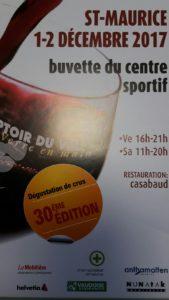 COMPTOIR DU VIN ST-MAURICE @ Buvette de centre sportiv St-Maurice | Salgesch | Wallis | Schweiz