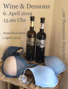 Wine & Dessous 2019 / ausgebucht @ Kellerei Josef Glenz & Töchter